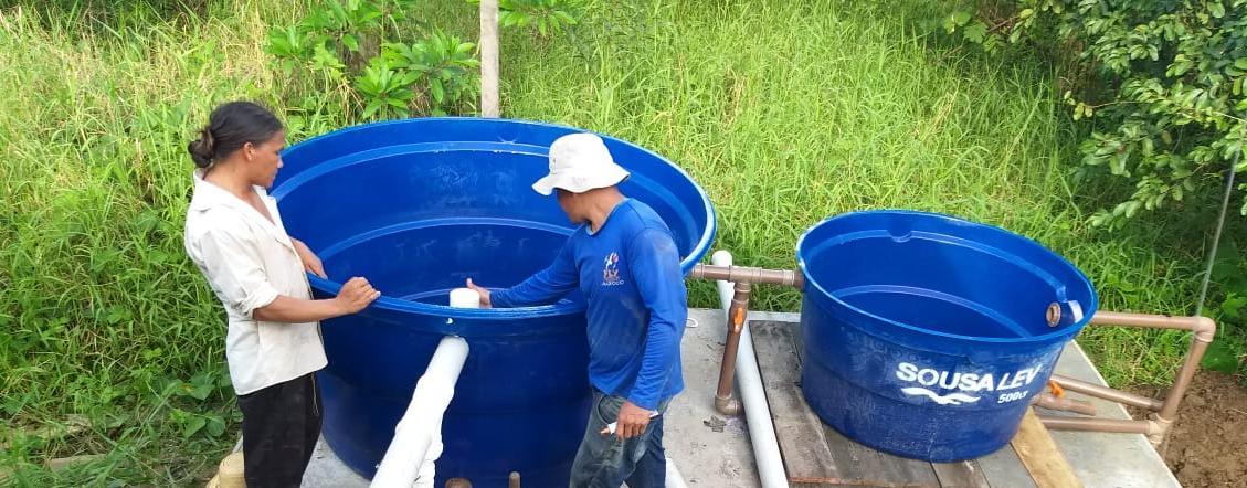 Pesquisa instala tecnologia de tratamento de esgoto em comunidade da Amazônia