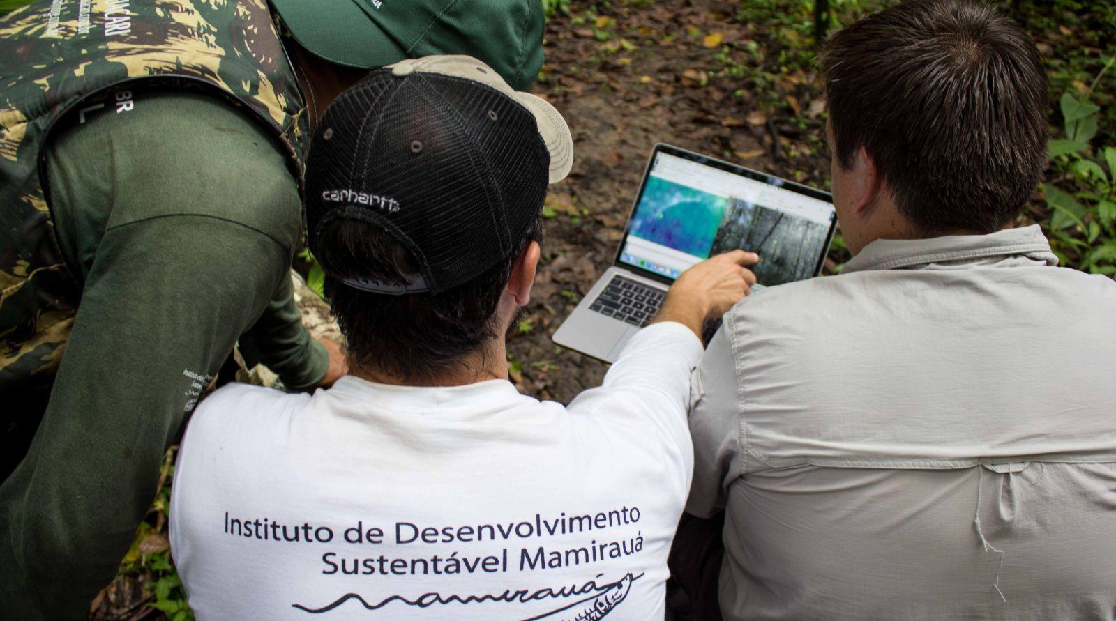 Na SBPC, Instituto Mamirauá apresenta tecnologia de monitoramento para a Amazônia