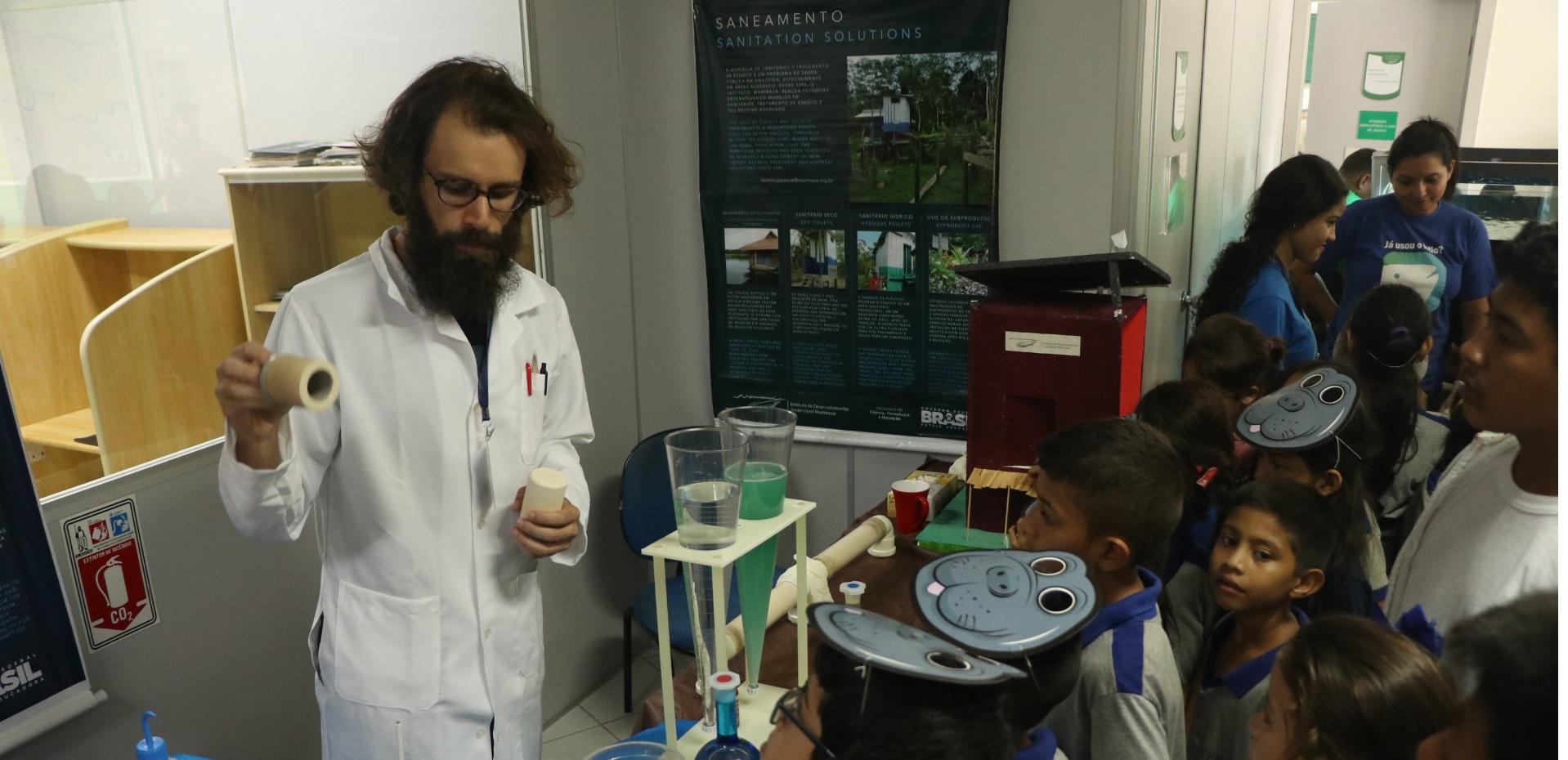 Começa programação da Semana Nacional da Ciência e Tecnologia do Instituto Mamirauá