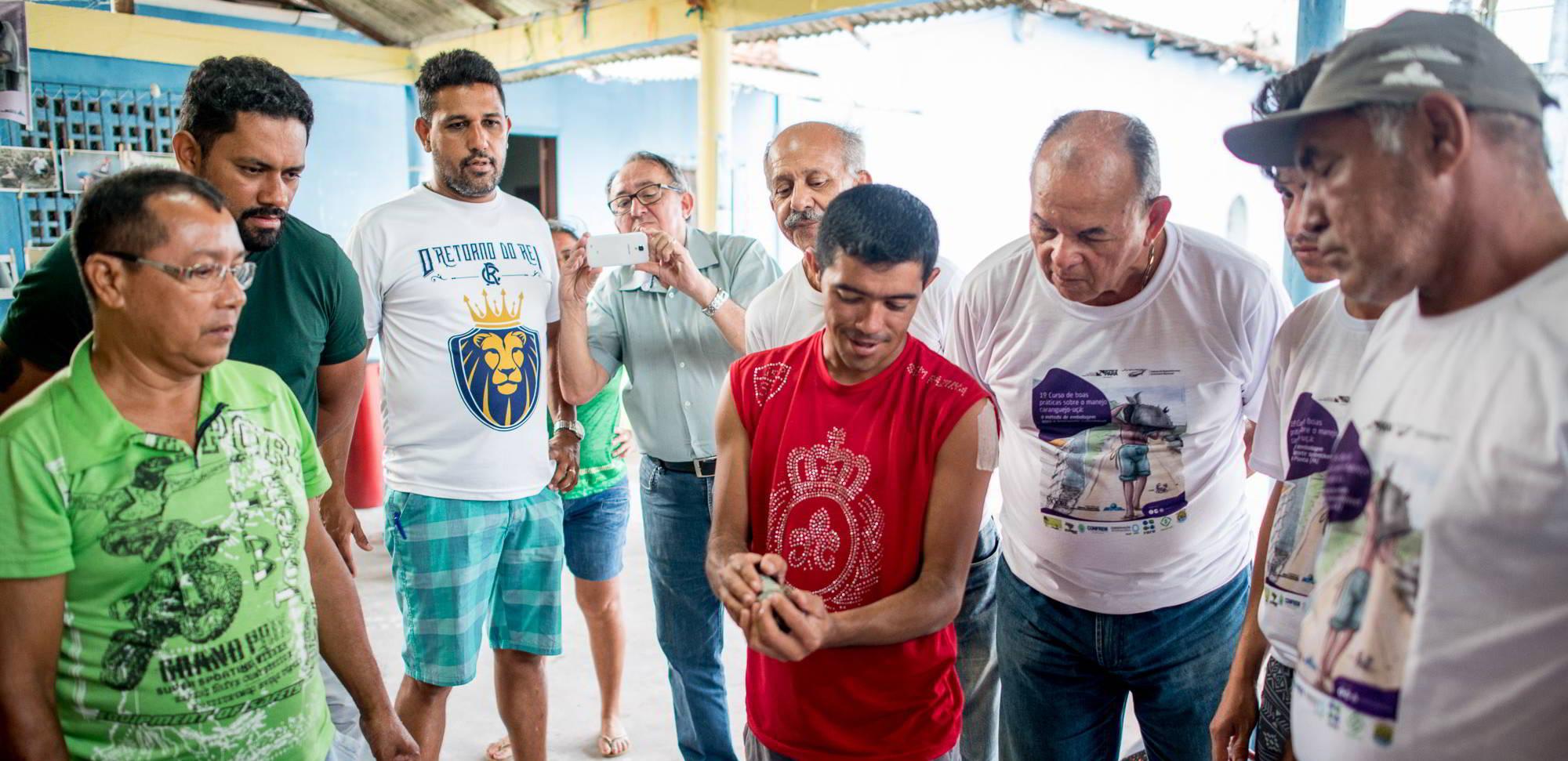 Com apoio do Instituto Mamirauá, Sedap-PA capacita mais 203 pescadores artesanais de caranguejo