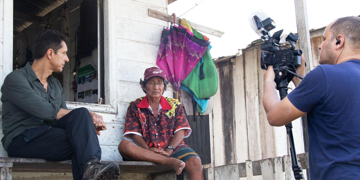 Em série sobre a Amazônia, Jornal da Record apresenta trabalho do Instituto Mamirauá