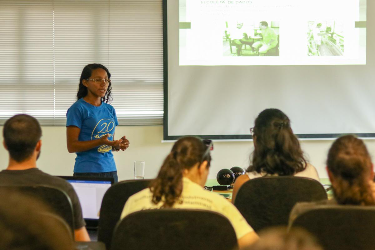 Seminário apresenta projetos de pesquisa de jovens pesquisadores do Instituto Mamirauá