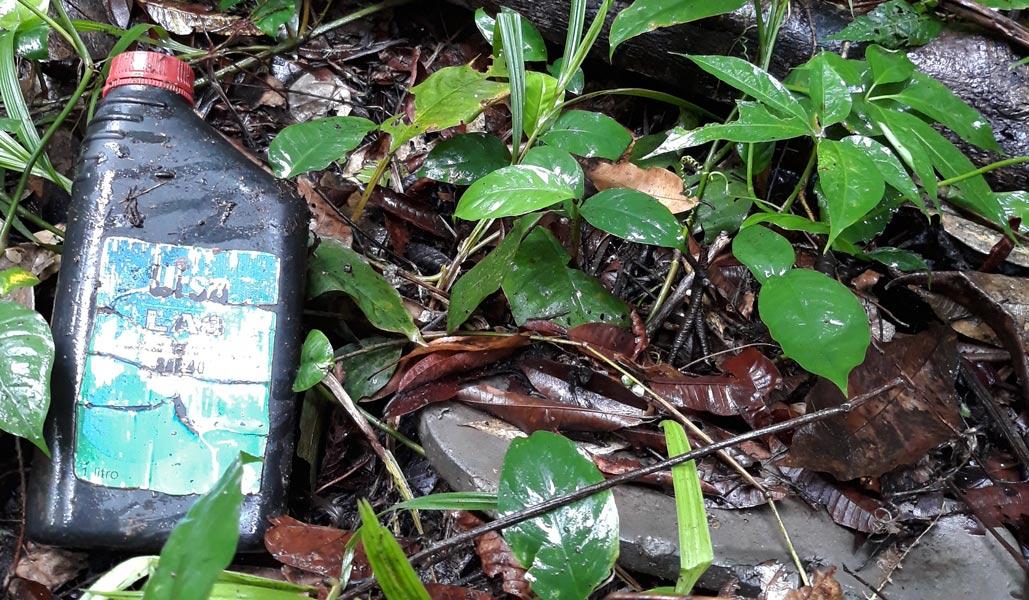 Lixo na floresta: pesquisa mostra alta quantidade de resíduos sólidos em região da Amazônia