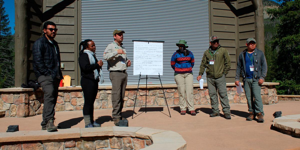 Instituto Mamirauá participa de Curso Internacional de Manejo de Áreas Protegidas, nos EUA